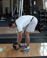 lifting with your back